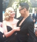 Gok Wan and Kim Cattrall