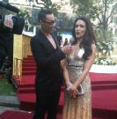 Gok Wan and Kristin Davis