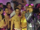 Gok raises the roof at West End Bares 2011 event in London on 4 Sept.