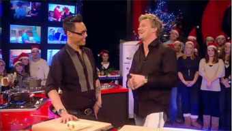 gok wan flirting with gordon ramsay on cookalong live Facts about gok wan: birthday, birthplace, age, before fame and family, achievement, gok wan's personal life, popularity rankings, and more.