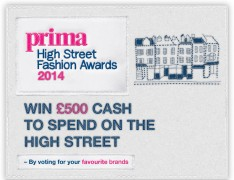 Prima High Street Awards 2014