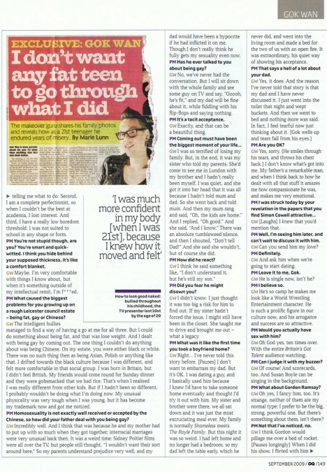 Gok Wan interview with GQ - page 4