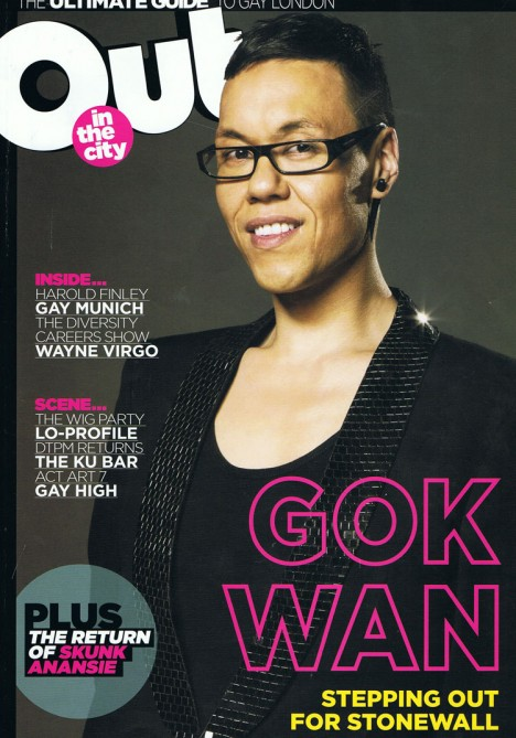 Gok Wan cover photo for Out London