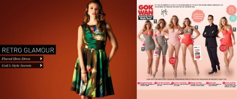 Gok's Sainsburys Tu and SimplyBe launches