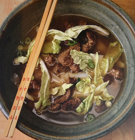 Poppa Wan's all time favourite beef noodle soup