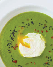 Broccoli and Sesame Soup - a recipe from Gok's Wok