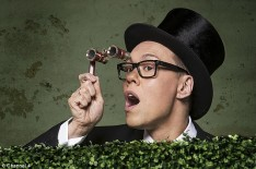 Gok Wan at Royal Ascot