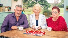 Paul Hollywood, Mary Berry and Jo Brand in The Great Comic Relief Bake Off 2015